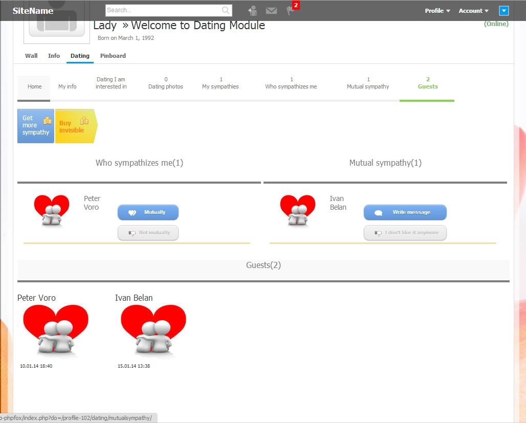 taglines online dating