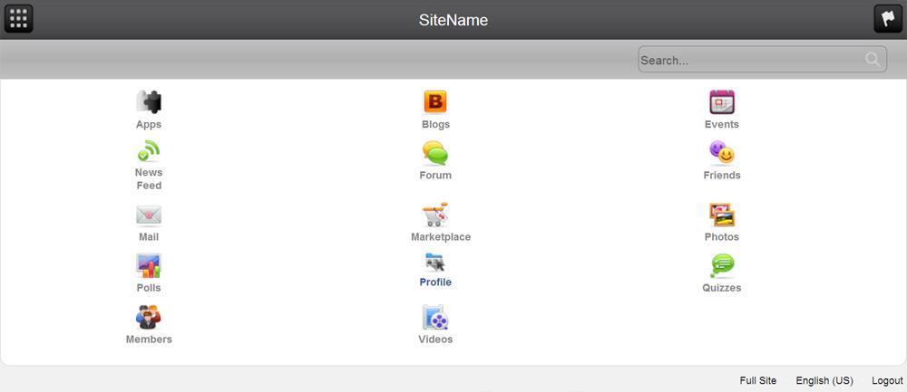 Google Plus Template 3.7.2 - plugin for PhpFox.